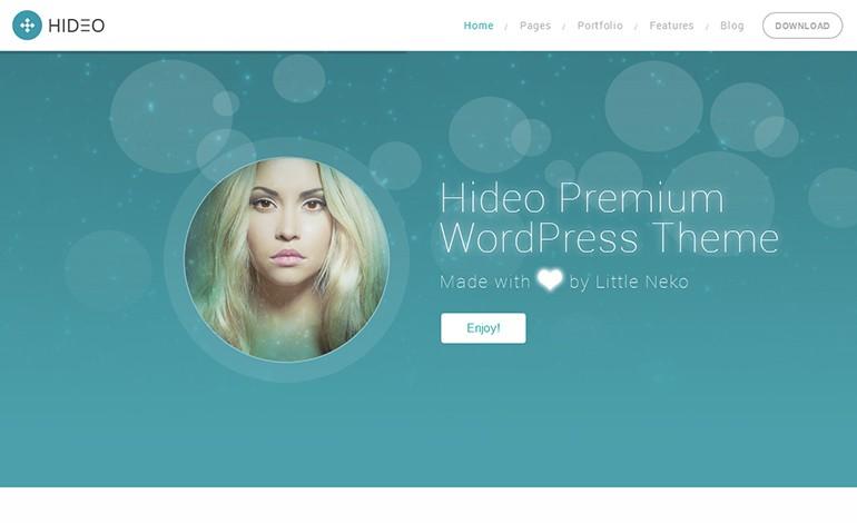 Hideo Business WordPress theme