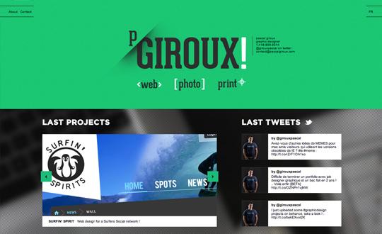 Pascal Giroux Graphic Designer