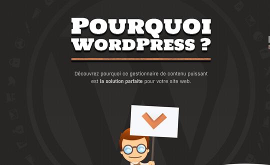 Pourquoi WordPress