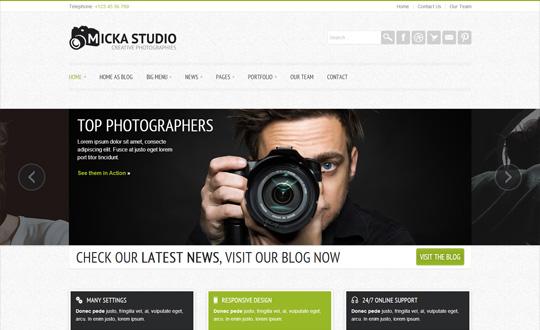 Micka a Responsive Blog Wordpress Theme