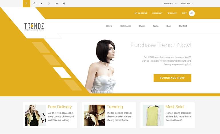 Trendz WooCommerce Shopping WordPress Theme