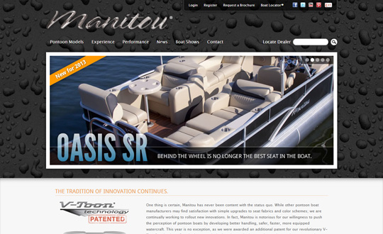 Manitou Pontoon Boats