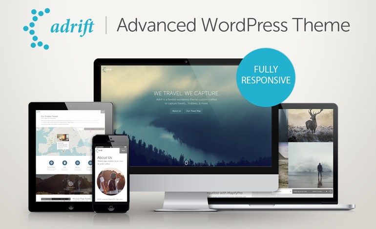 Adrift WordPress Theme