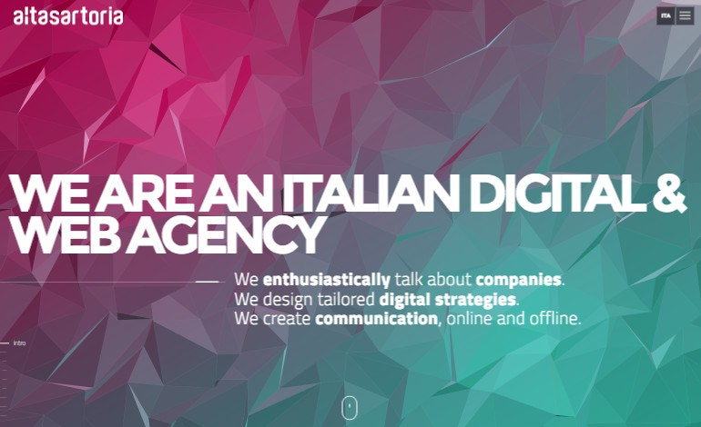 AltaSartoria digital and web agency