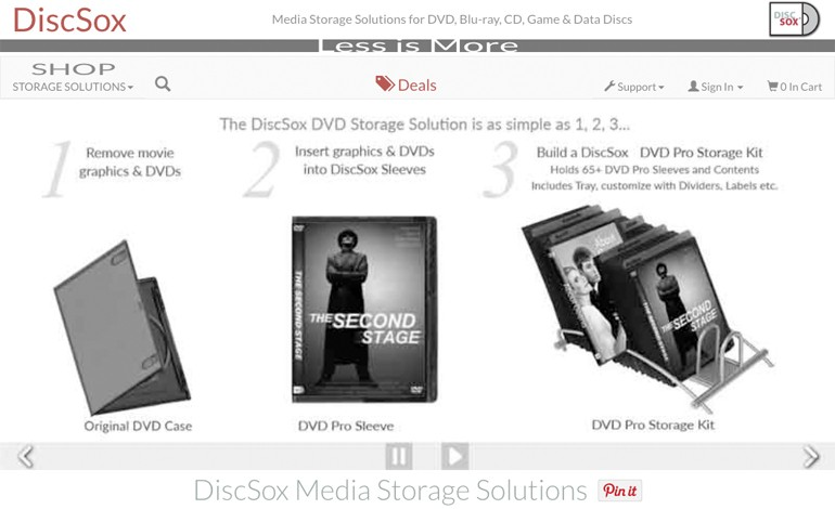 DiscSox Media Storage Solutions