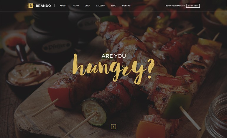 Brando OnePage WordPress Theme