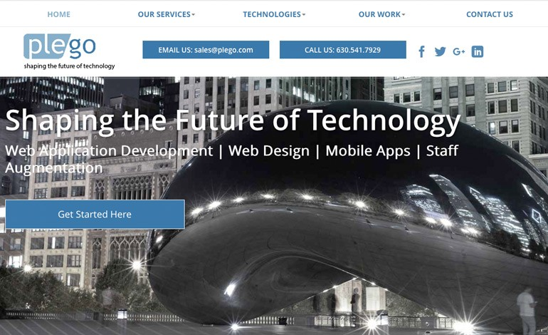 Plego Technologies Web Design