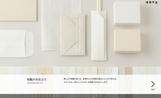 Oue Inc. Web Brand Brochure