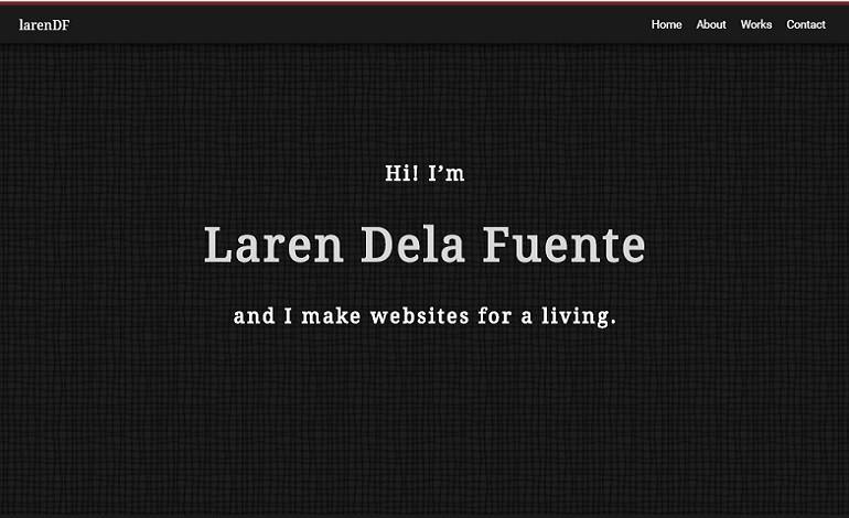 LarenDF's Portfolio