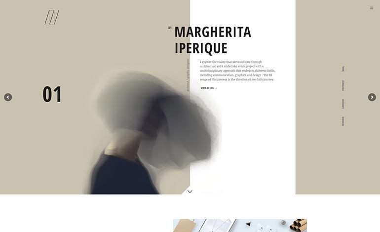 Margherita Iperique Portfolio