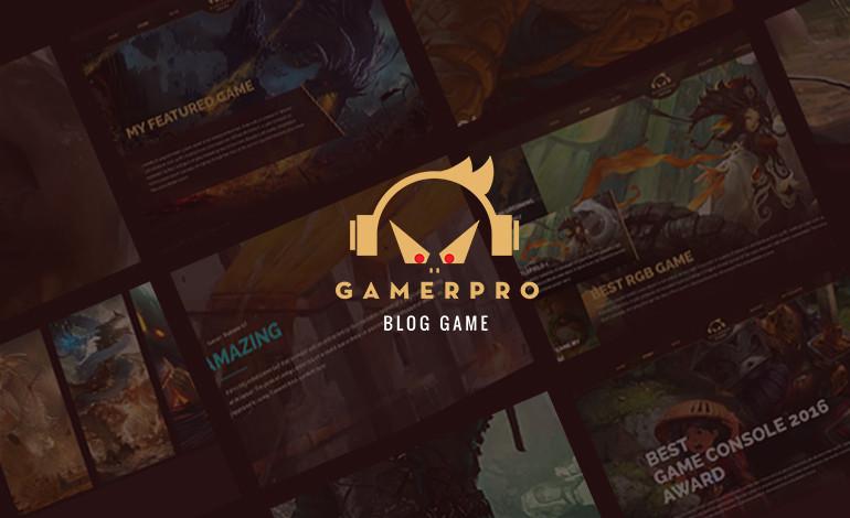 GamerPro Blog WordPress Theme
