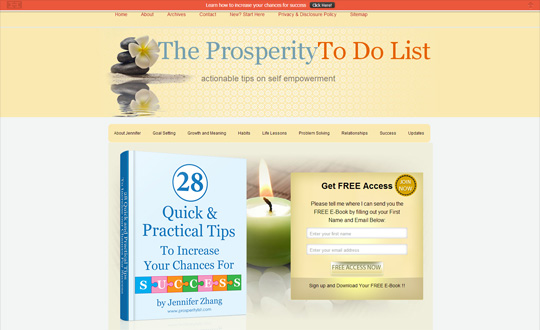 The Prosperity To Do List
