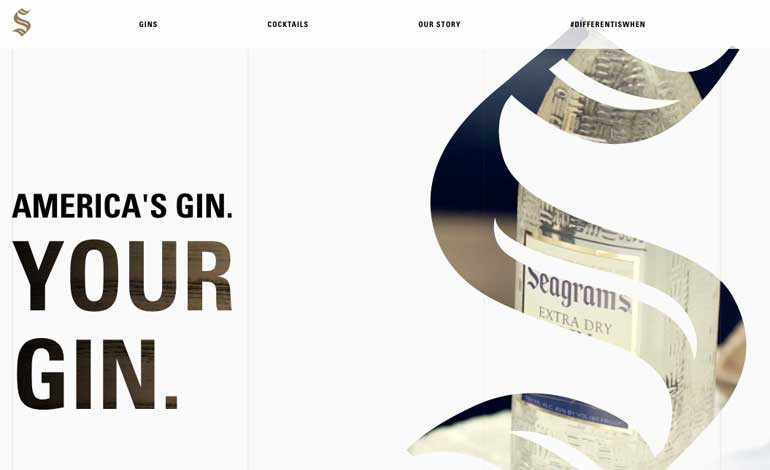 Seagram's Gin USA