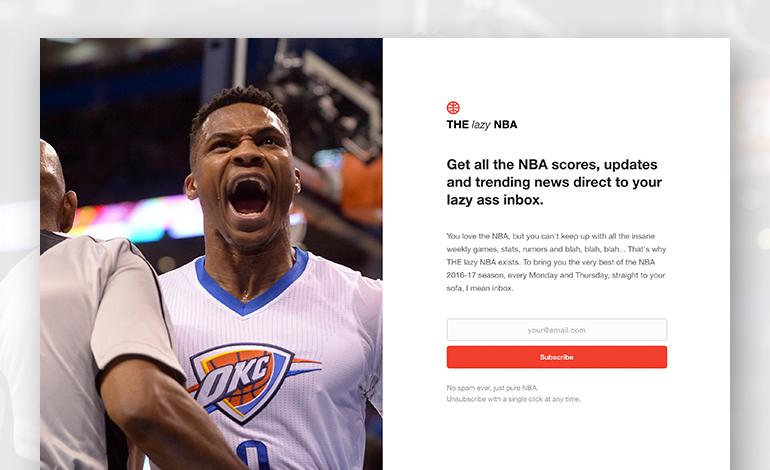 THE lazy NBA