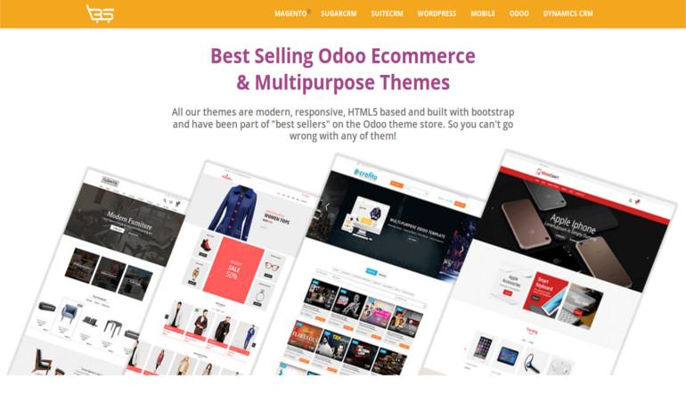 HTML5 Odoo ECommerce  Multipurpose Themes