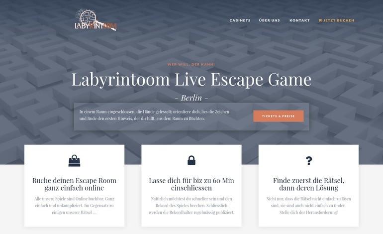 Labyrintoom Berlin Live Escape Game