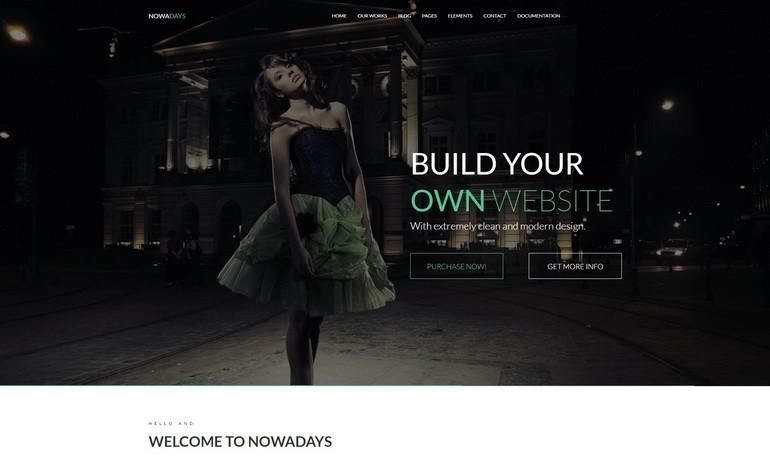 NowaDays Multipurpose WordPress Theme