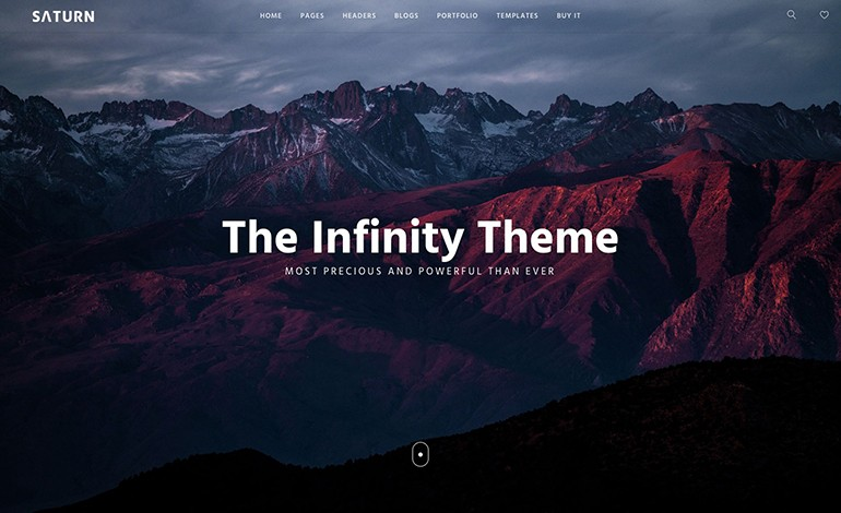 Saturn Multiuse and Accurate WordPress Theme