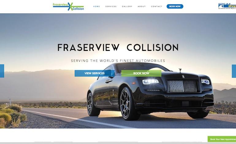 Fraserview Collision
