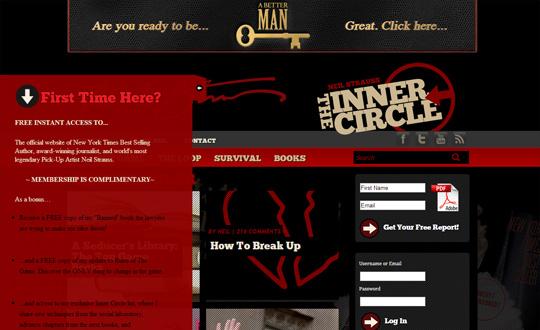 Neil Strauss's Inner Circle