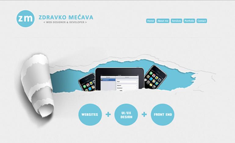 Zdravko Mecava - web designer/developer