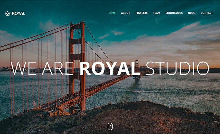 royal responsive one page parallax template csslight
