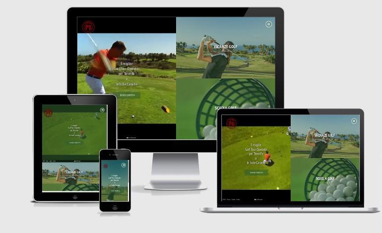 Golf Tour Operator Html5 Responsive App Template