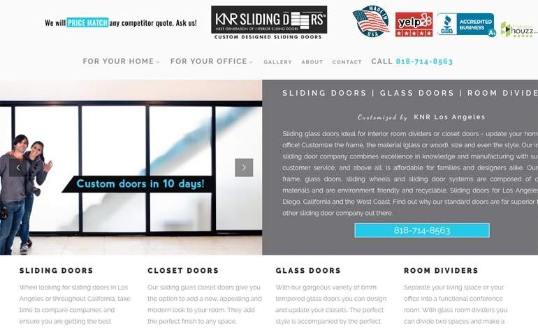 KNR Sliding Doors