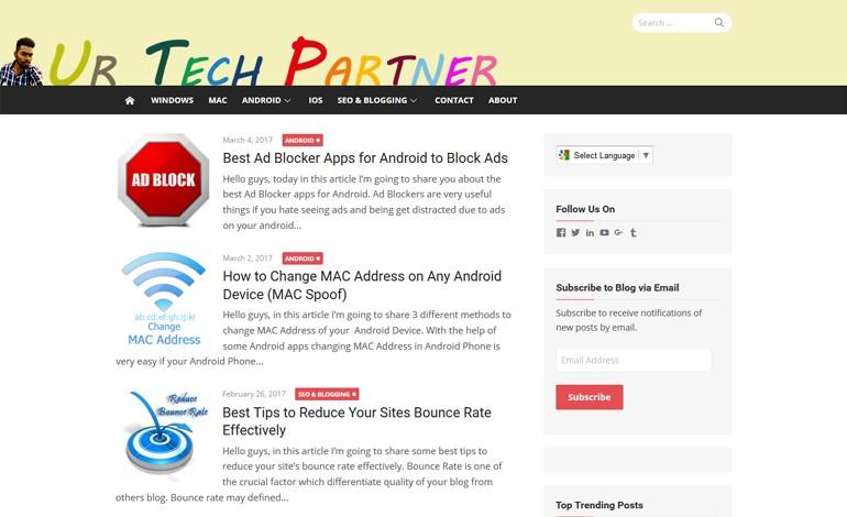Ur Tech Partner