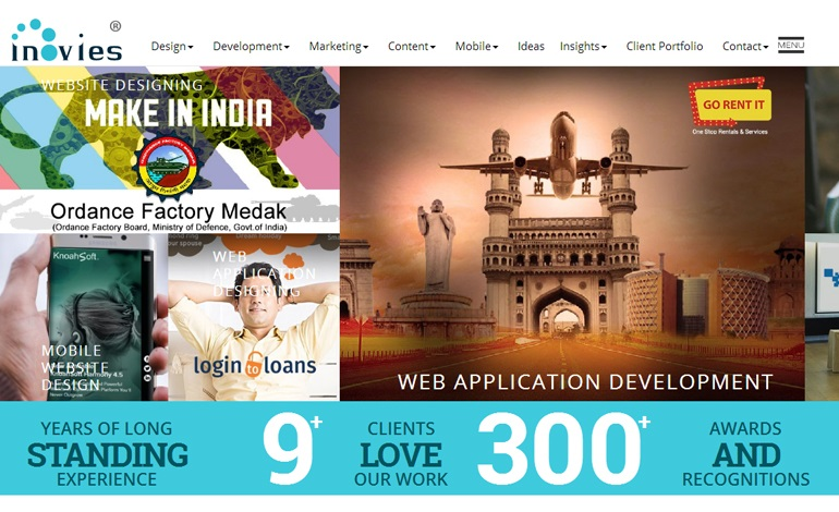 inovies web designing company