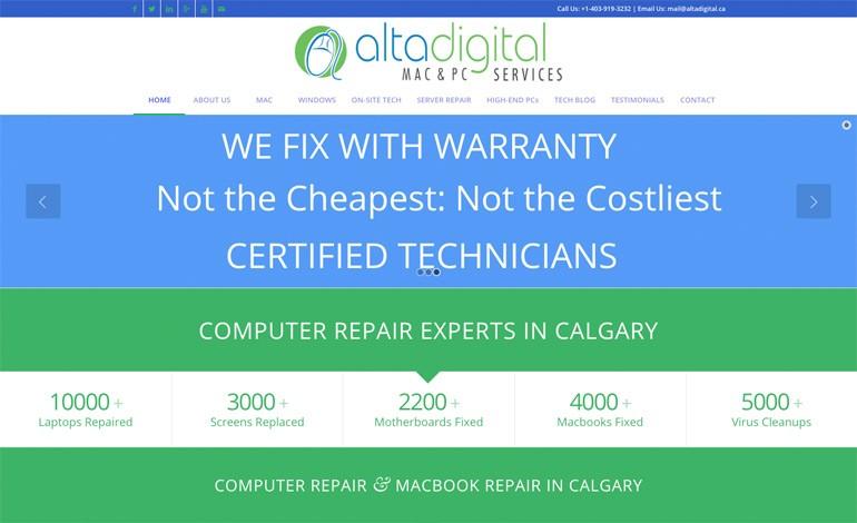 Altadigital MAC and PC Repair services