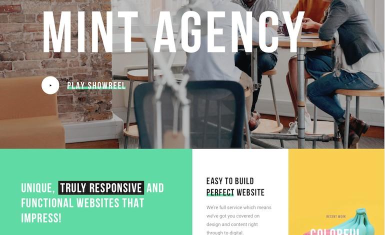 Mint Creative Multi Purpose WordPress Theme