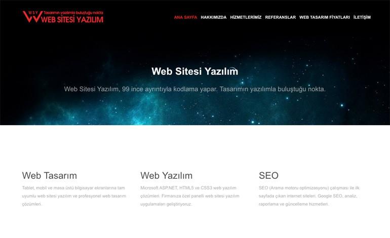 Web Sitesi Yazilim