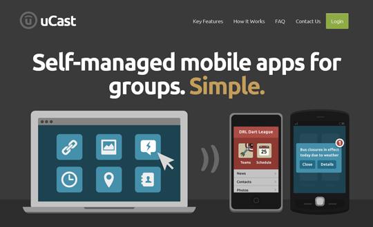 uCast Mobile App Framework
