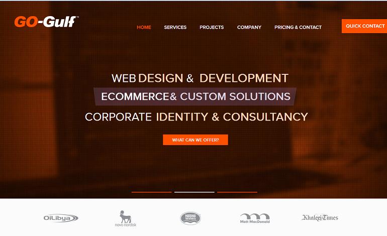 GoGulf Dubai Website Development Company