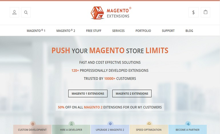 FMEextensions Magento Web Development Company