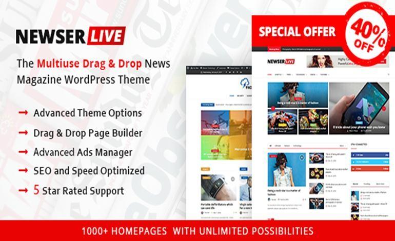 Newser WordPress Theme