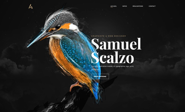 Scalzodesign Personal Website