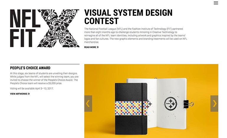NFLxFIT Visual System Design Contest