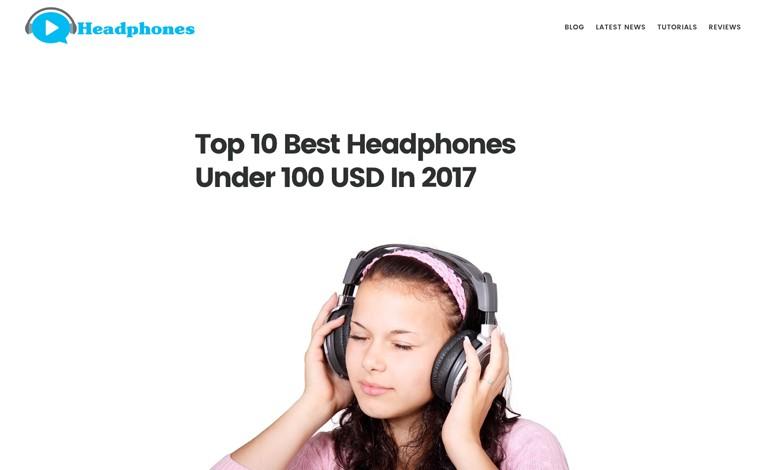 Top 10 Best Headphones Under 100 USD In 2017