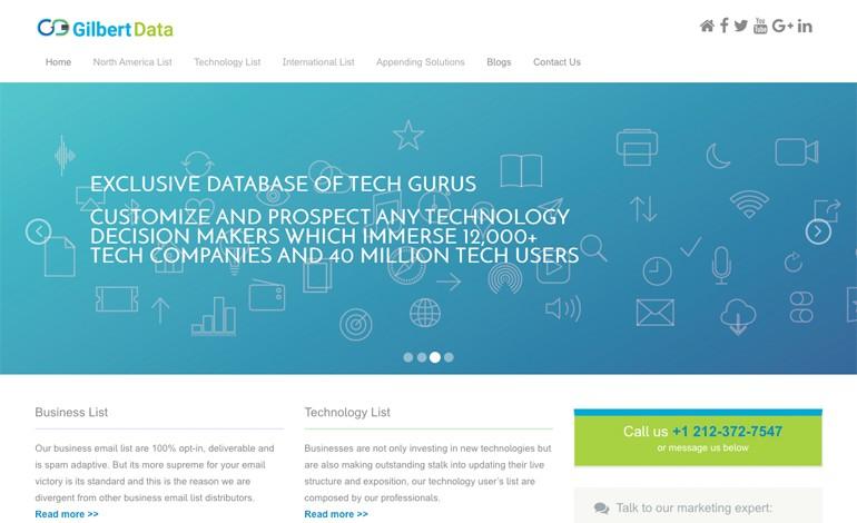 Gilbert Data
