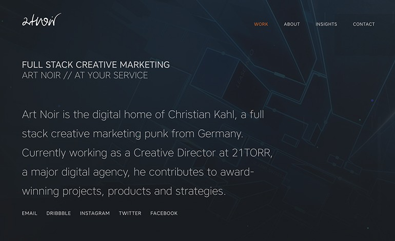 Art Noir Full Stack Creative Marketing