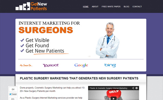 Plastic & Cosmetic Surgery Marketing
