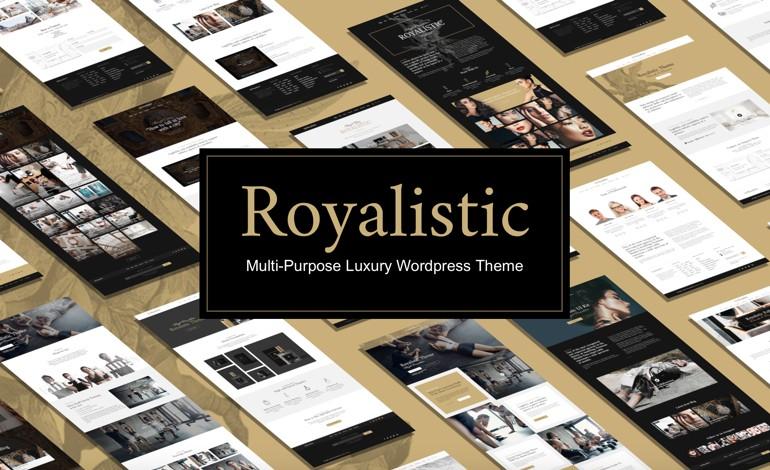 Royalistic Creative Multi Purpose WordPress Theme