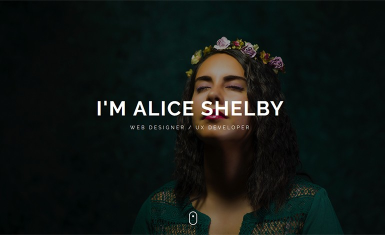 Shelby Personal Portfolio Template