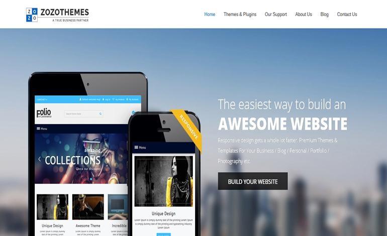 Responsive Wordpress Themes and Templates HTML 5 Megento CSS ...