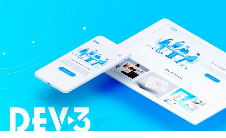DEV 3 Creative web agency