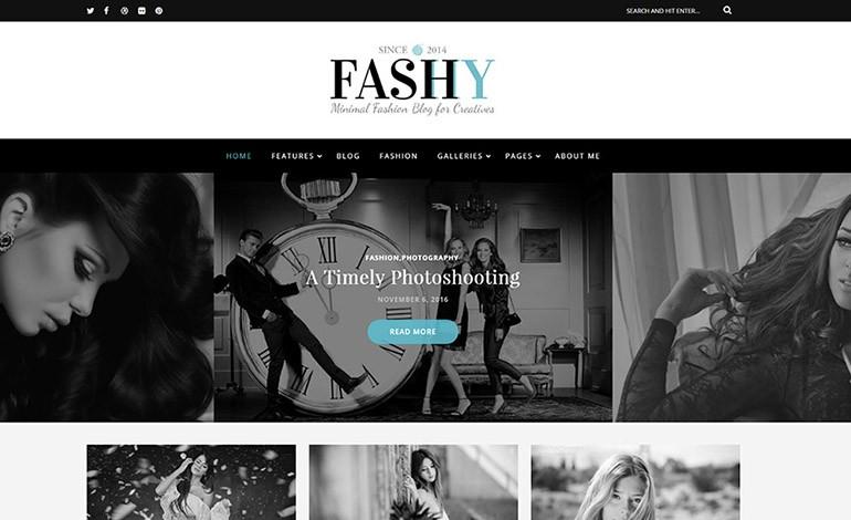 Fashy WordPress Fashion Blog Theme