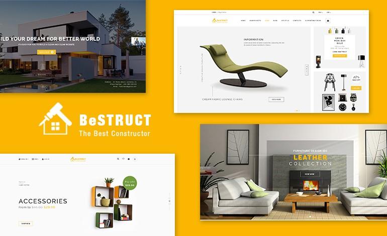BeStruct Construction and WooCommerce WordPress Theme