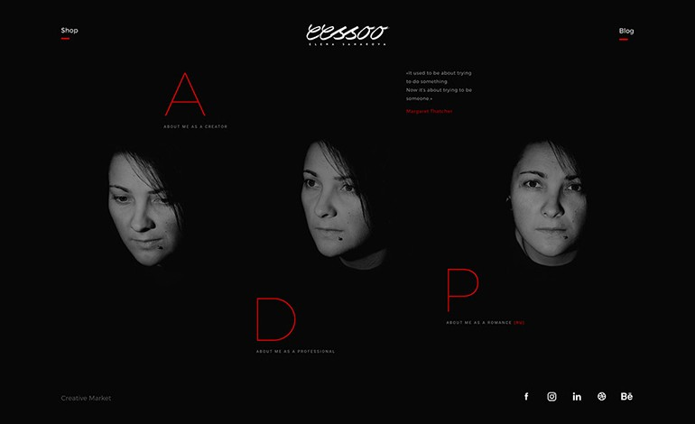 Portfolio of Elena Saharova
